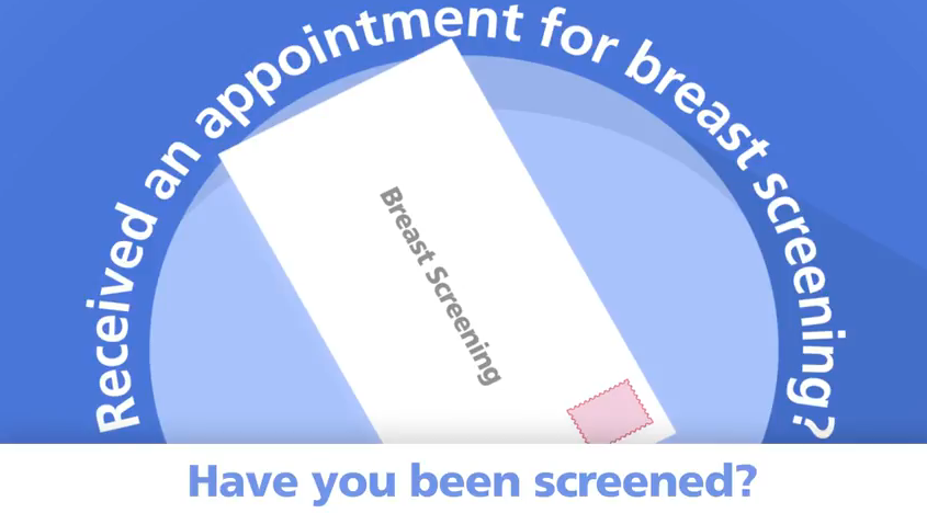 Have you received an appointment for breast screening?