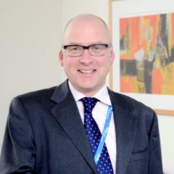 Chris Adcock, director of finance