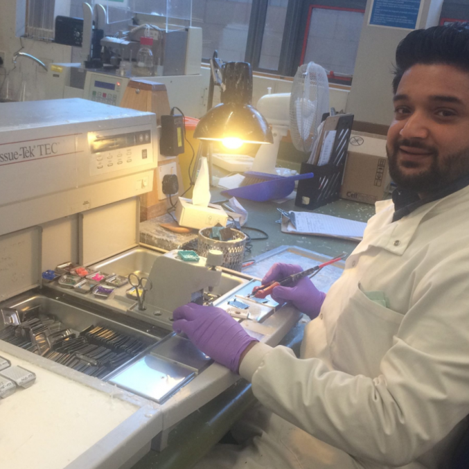 Mo Chaudry, Trainee Biomedical Scientist, Histopathology.png