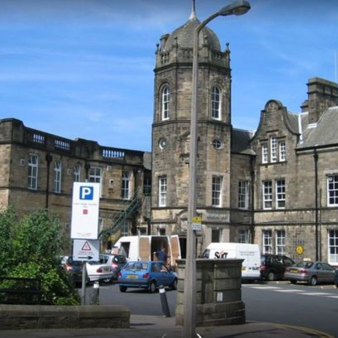 Royal Lancaster Infirmary Medical Unit 1 entrance