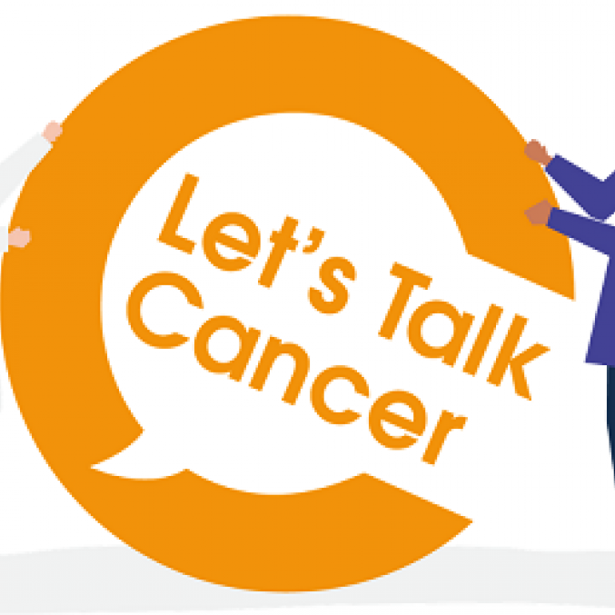Lets talk cancer graphic